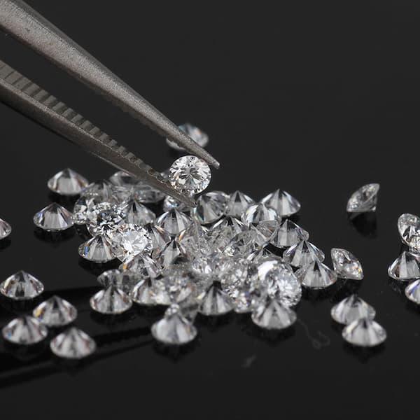 Commercial diamonds